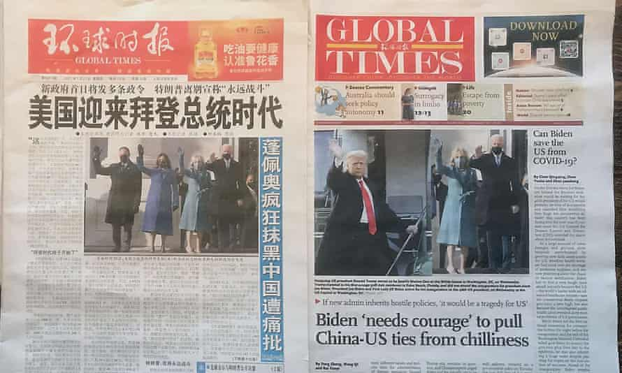 China's state media has helped push Beijing's image around the world during the pandemic, a study by the International Federation of Journalists says.