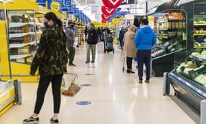Supermarket staff report suffering from anxiety and panic attacks as a result of customer behaviour.
