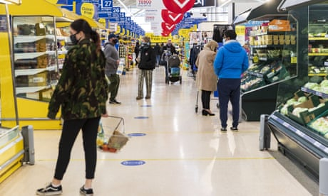 UK supermarket staff say they have become the 'forgotten key workers'
