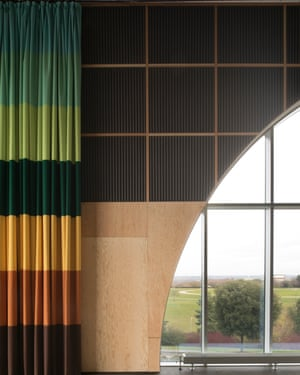 A gloriously 70s vision that would have made the young Terence Conran proud … MK Gallery's sky room.