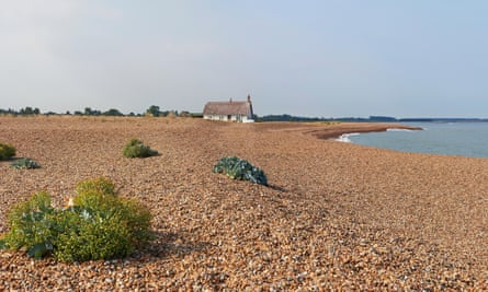 The tranquil Orford Ness.