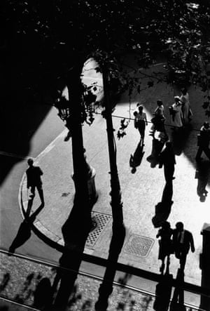 Las Ramblas, Barcelona, Spain, 1956