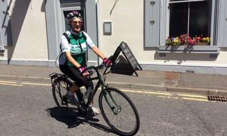 Mavis Paterson, a fundraiser for Macmillan.