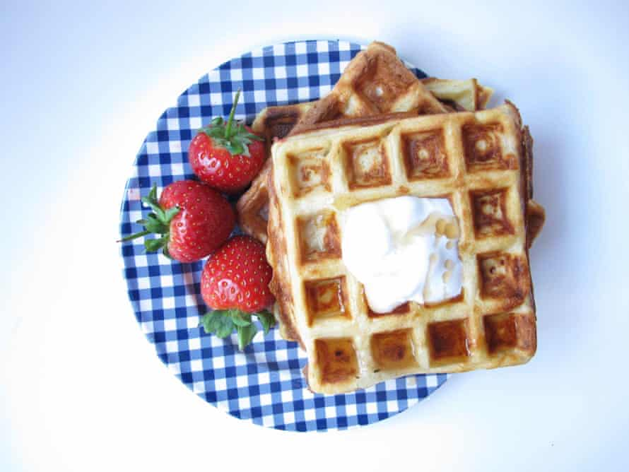 Felicity Cloake's perfect Belgian waffles.