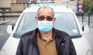 taxi driver Mohammed Rashid