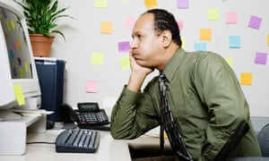 Beware doing nothing at work ... you could end up suffering from boreout.