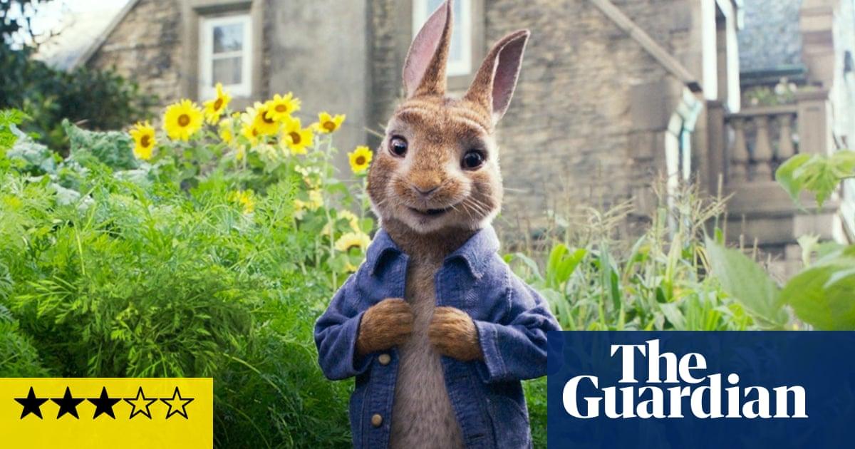 Peter Rabbit review: James Corden's twerking bunny gets away with it – just