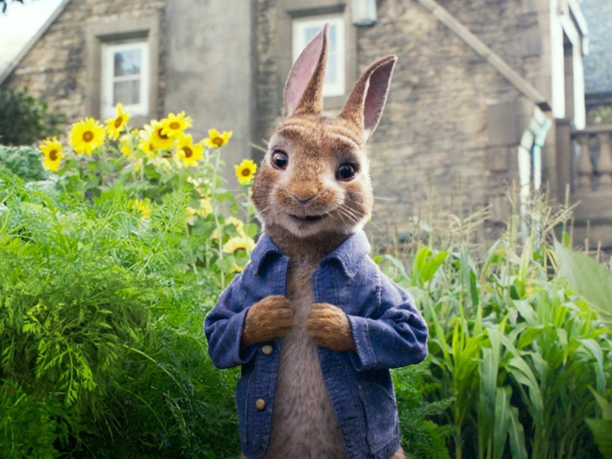 Peter Rabbit Review James Corden S Twerking Bunny Gets Away With