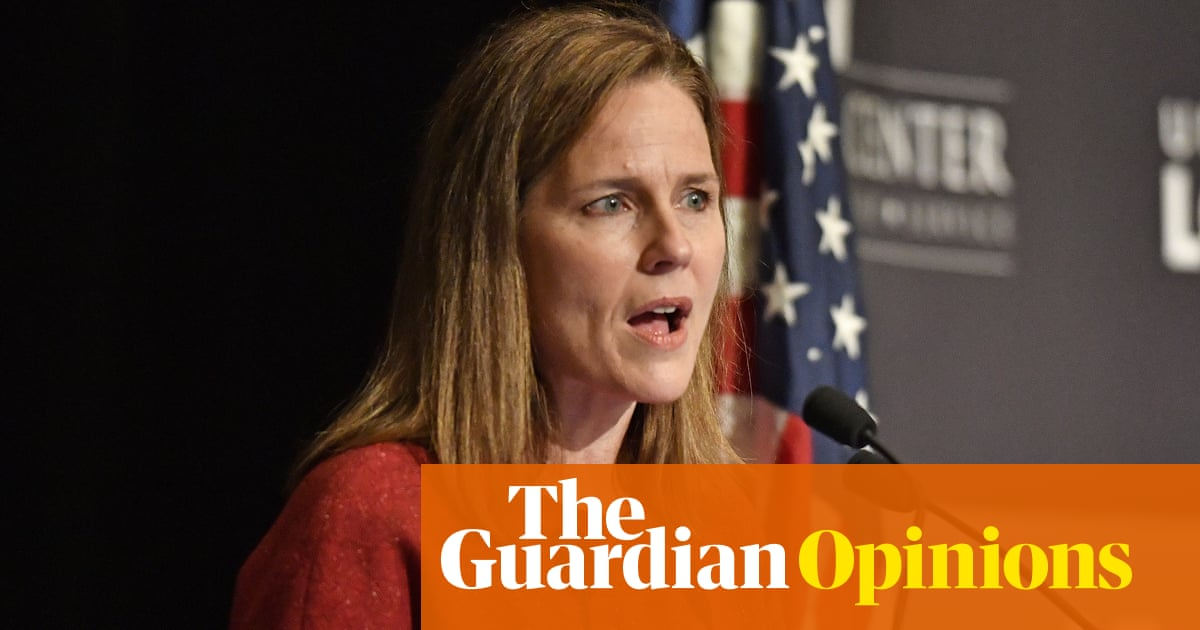 Amy Coney Barrett says the supreme court aren't 'partisan hacks'. Oh really?