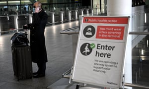 Labour wants all travellers arriving in the UK to have to quarantine in hotels.