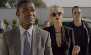 A film yearning to be loved … Gringo.