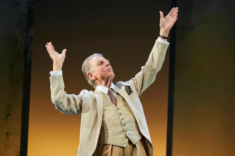 Edward Fox as John Betjeman.