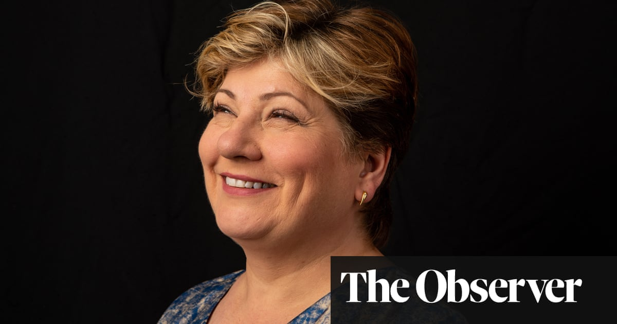 Emily Thornberry: 'Being chippy is a good thing'