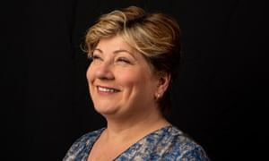 Emily Thornberry photographed at her constituency office, Islington.