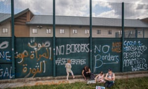 Yarl's Wood detention centre in Bedford