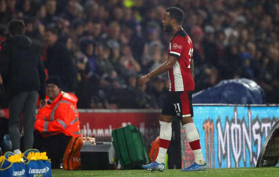Ryan Bertrand gets out while the going's (somewhat) good against Leicester.