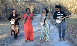 Our Native Daughters (from left): Rhiannon Giddens, Leyla McCalla, Allison Russell and Amythyst Kiah.