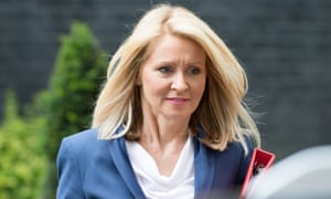 Esther McVey, the work and pensions secretary