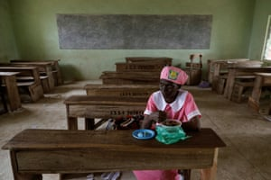 Her daughter was initially embarrassed that her mother attended school, but now understands that she never had the chance when she was younger