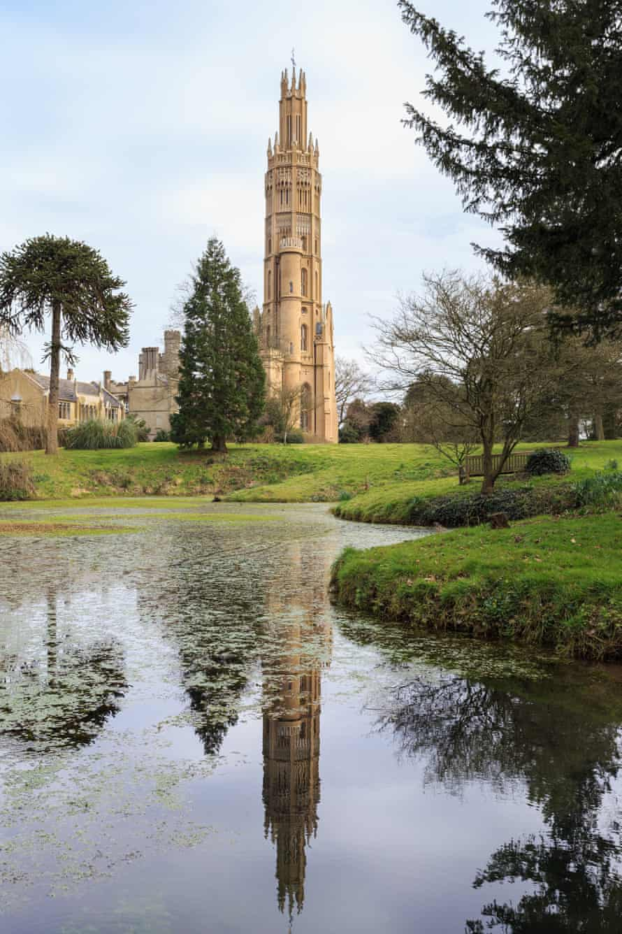 The fully-restored Hadlow Tower