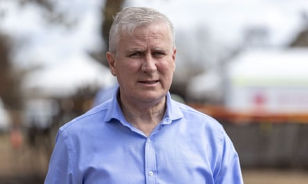 Deputy prime minister and Nationals leader Michael McCormack has accused people linking the bushfires with the climate crisis of engaging in 'ravings' and political point-scoring.