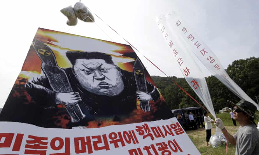 South Korean's protest in September 2016 after the North's most recent nuclear test.