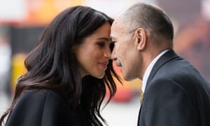 Prince Harry and Meghan Duchess of Sussex visit New Zealand House, London.