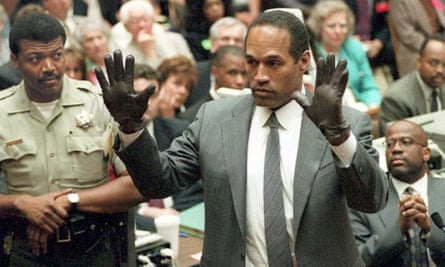 'If the glove doesn't fit' … OJ stopped taking his arthritis medicine for weeks before this moment so his hands would swell up.