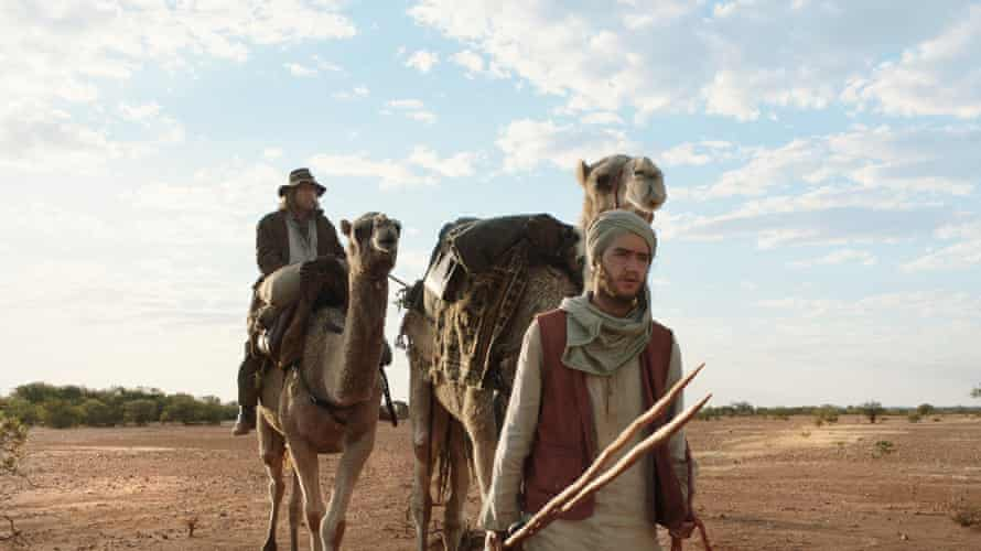 A still from the 2020 Australian film, The Furnace, directed by Roderick MacKay and starring Ahmed Malek and David Wenham. Hanif & Mal journey