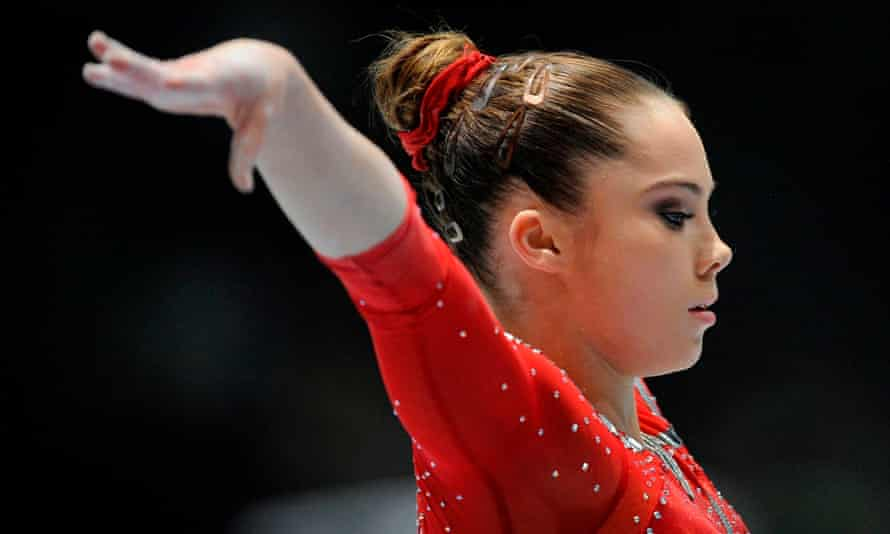 McKayla Maroney competes on the uneven bars during the 44th Artistic Gymnastics World Championships in Antwerp in 2013.