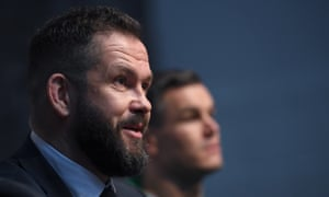 New Ireland head coach Andy Farrell needs to rejuvenate his team's attack.
