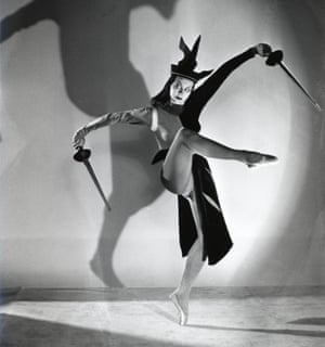 Beryl Grey as the Black Queen, photo by Gordon Anthony. London, England, 1947.