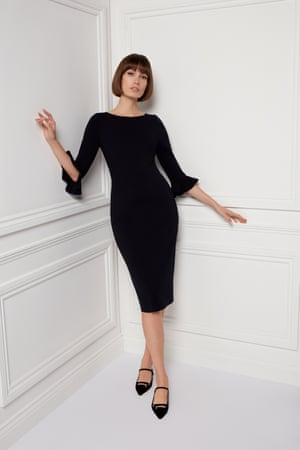 15. GoatThe London design label worn by Victoria Beckham and Gwyneth Paltrow last month, launches its classic dress and separates styles. The Audrey Hepburn-esque dresses come in black and navy jersey, or hot red and baby blue. From £220; goatfashion.com