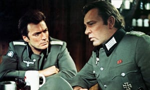 Squinting in German: Clint Eastwood (left) with Richard Burton in Where Eagles Dare.