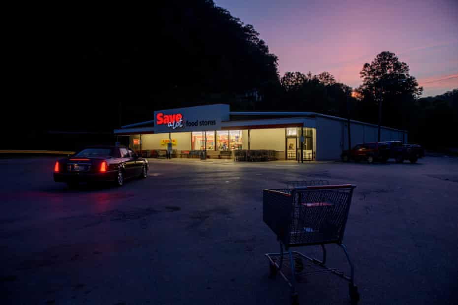 Save-a-Lot is the grocery store in Welch, West Virginia.