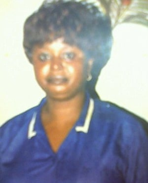 Jimmy's mother, Jelikatu Kargbo, who adopted him at the age of five.