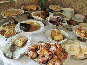 Sometimes I have dreams that look like this. Hidden down a cobbled road in Skansen is an authentic tea house with this smorgasbord of homemade cakes and pastries. Kat experiences quite a bit of heartache on Sweden, but there's always a cinnamon bun around to take the edge off it.