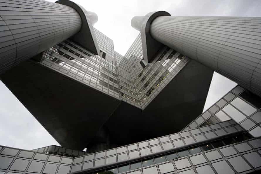 The headquarters of HypoVereinsbank (HVB) in Munich.