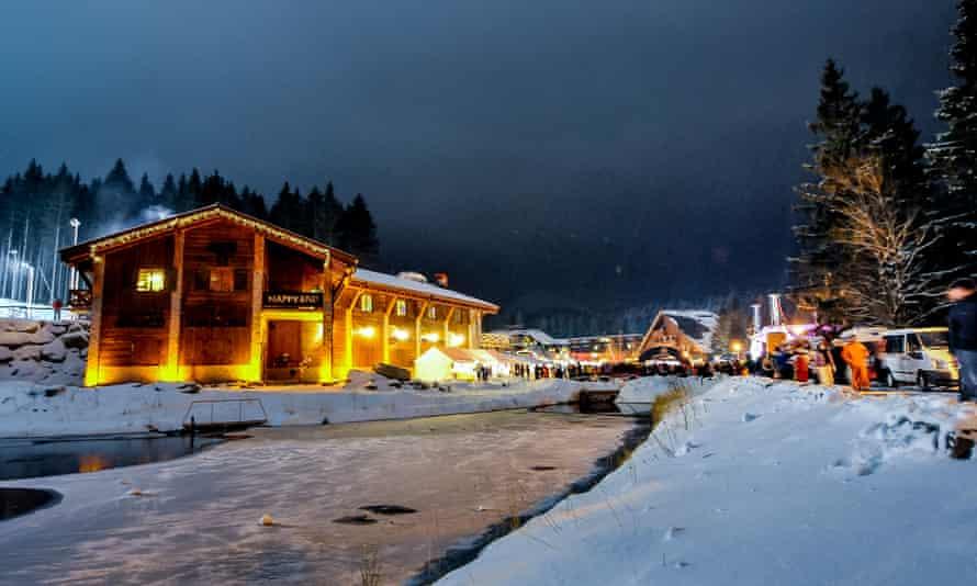 The Happy End bar, Jasna, Low Tatras, Slovakia