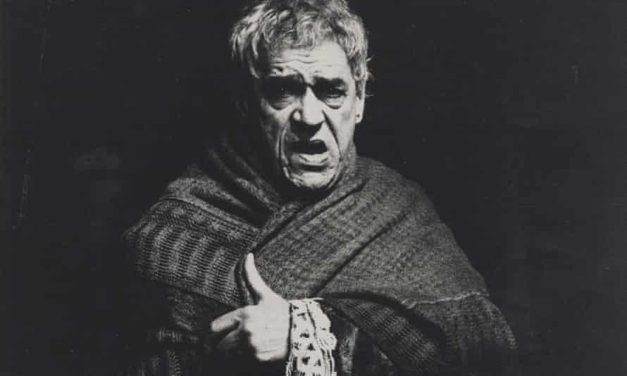 Paul Scofield as Salieri in the 1979 Amadeus.