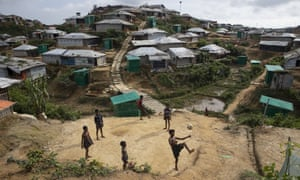 Violence has forced more than 720,000 Rohingya to flee Myanmar to areas like Kutupalong camp in Bangladesh.