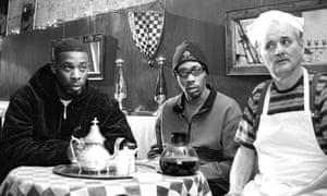 Knocking back the joe … GZA, RZA and Bill Murray in Coffee and Cigarettes.
