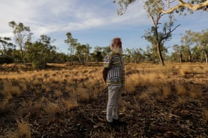 Bruce Pascoe in the Northern Territory.