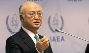 The IAEA director-general, Yukiya Amano