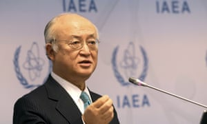 Yukiya Amano of Japan is the top UN official tracking Iran's nuclear programme.