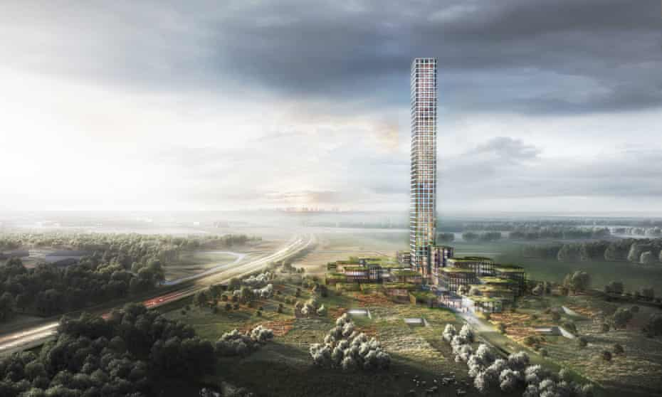 The Bestseller Tower will be visible from 60km away.