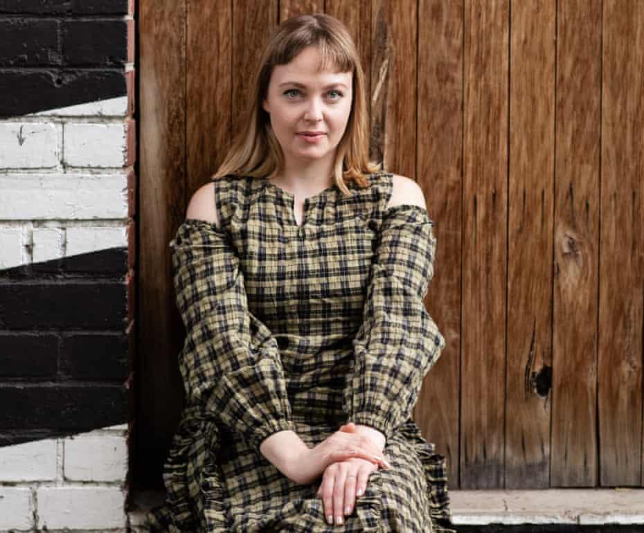 Ellena Savage photographed in Melbourne last month