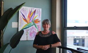 Marion Hughes, an artist from Gladstone