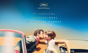 The official poster for this year's festival was released on Wednesday, and features Jean-Luc Godard's Pierrot le Fou (1965).