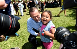 25 August 2015: During the 2013 election, The Prime Minister pledged to spend a week each year in a remote Aboriginal community. In September 2014, Abbott ran the country from a tent in Arnhem land; in 2015, he moved the centre of government to the Torres Strait. A number of Mr Abbott's cabinet colleagues including Scott Morrison and Sussan Ley accompanied him, but local press raged at their exclusion from covering proceedings.